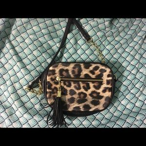 Cheetah crossbody purse